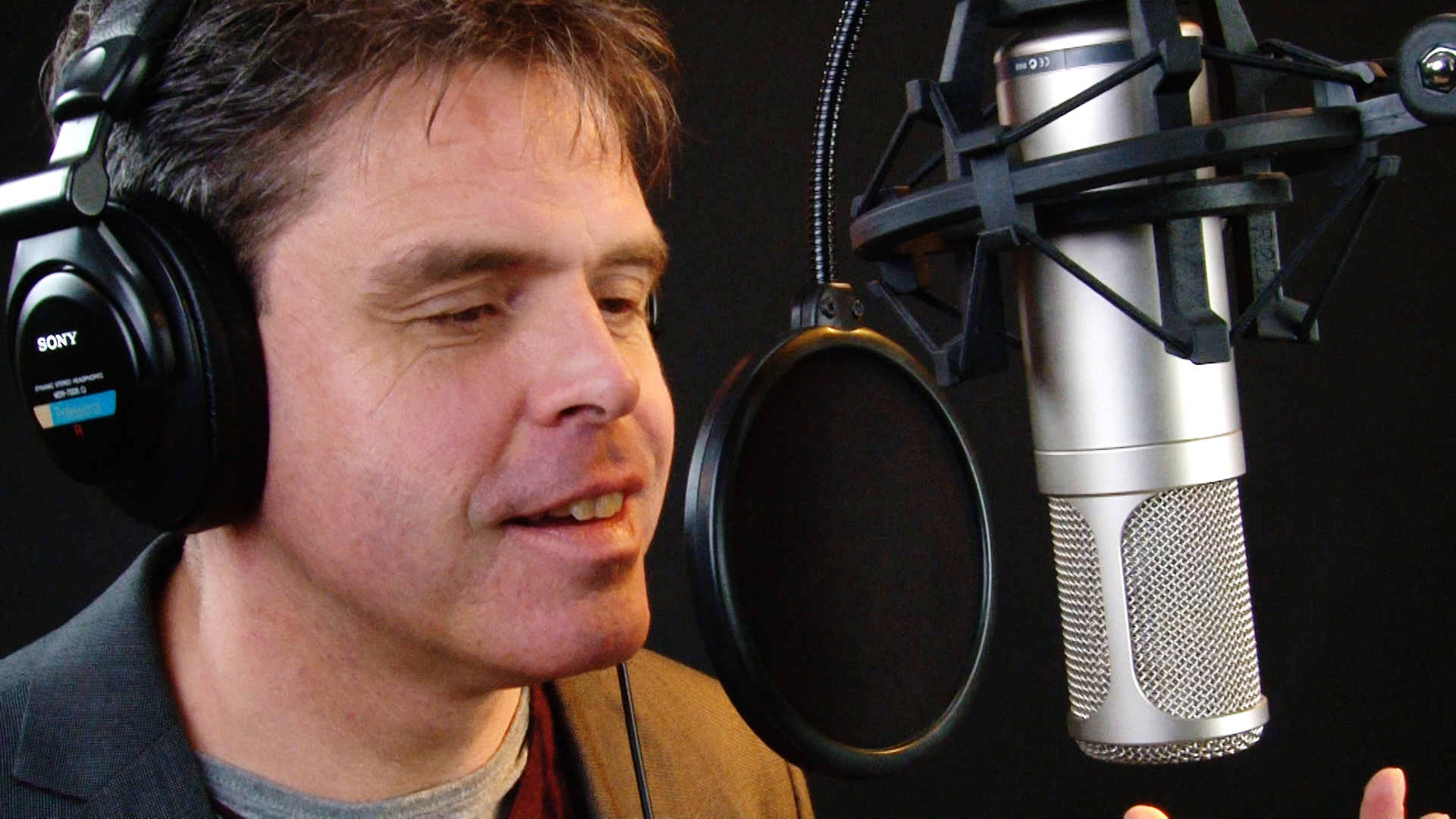 Voice Over | Eric Peeters | Rode K2 grootmembraan buizenmicrofoon